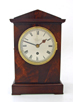 An early C20th mahogany single fusee timepiece by Davall & Sons.